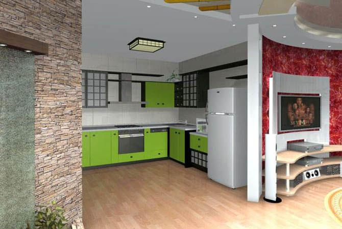 дизайн интерьера малогабаритной квартиры фото