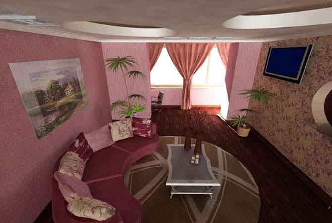 интерьер комнат квартир ronikon