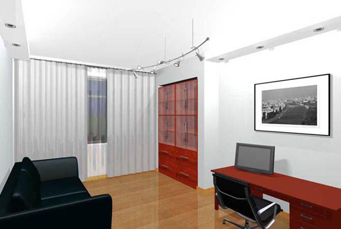 дизайн однокомнатной квартиры ип 46с