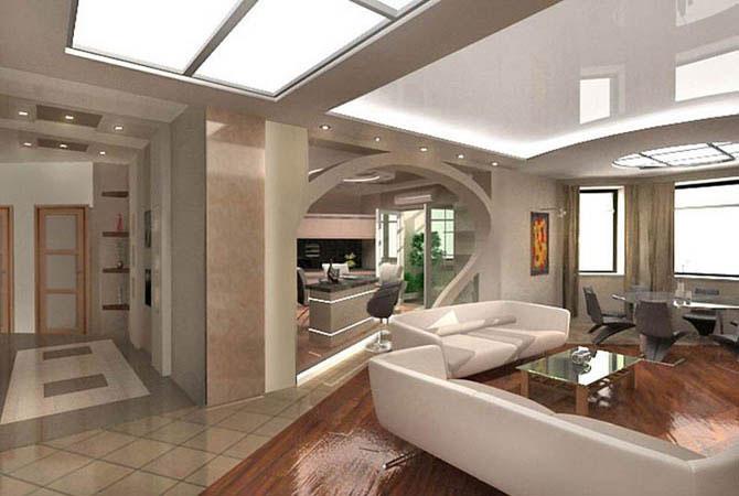 Интересные дизайн проекты квартир