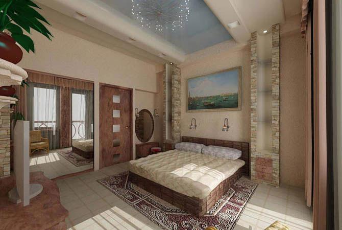 Проект перепланировки 2х комнатной