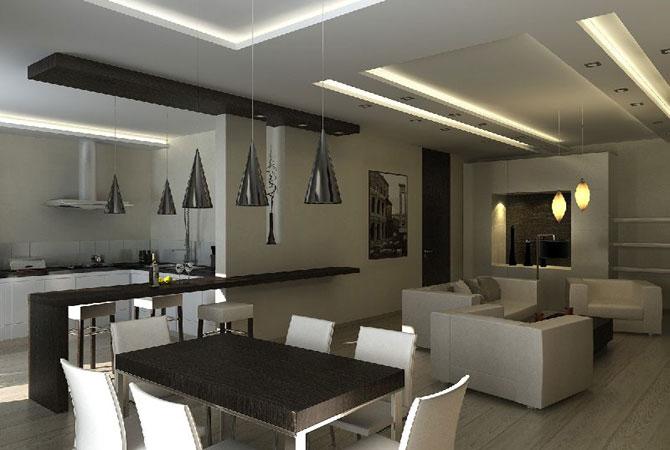 Фото внутреннего дизайна домов