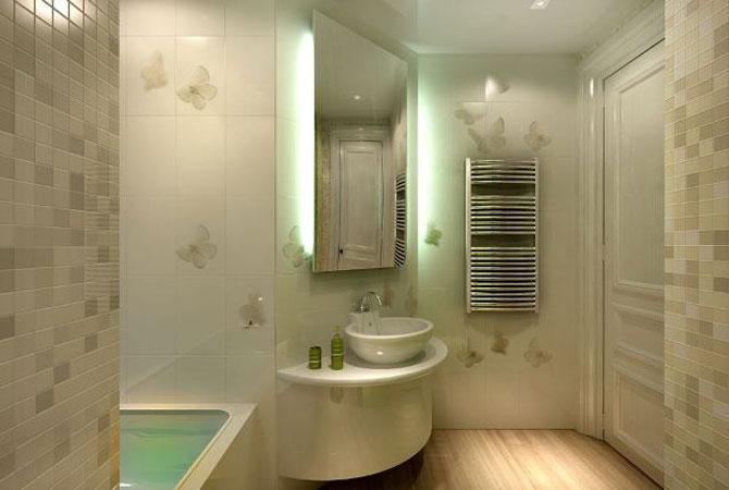 Отделка ванной комнаты стеновыми