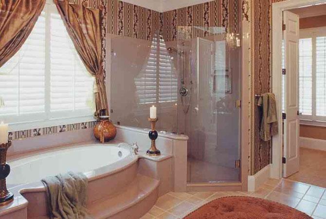 дизайн интерьера квартир ванной