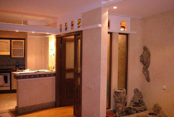 внутренняя отделка стен деревянного дома