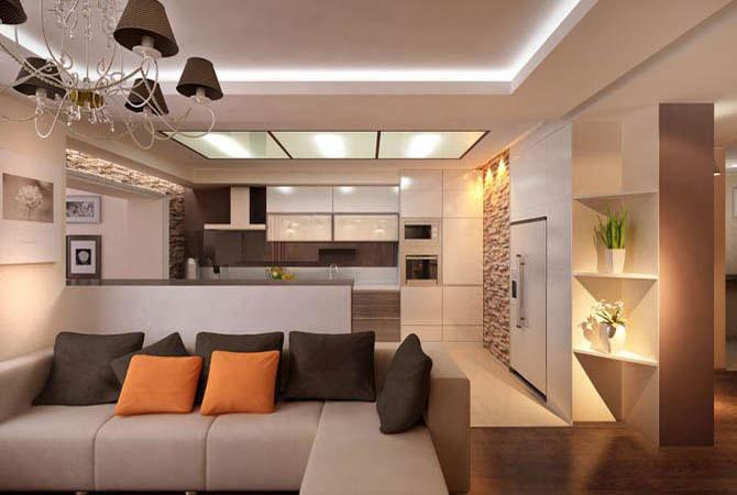 дизайн однакомнатных квартир перепланировка