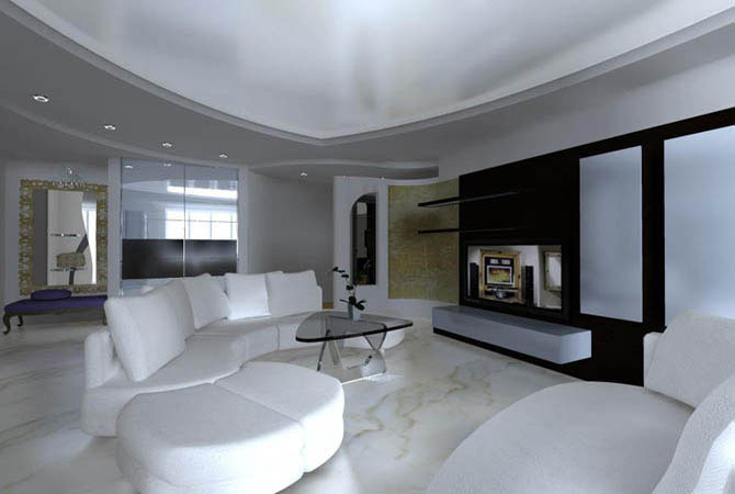 примеры дизайна однокомнатных квартир