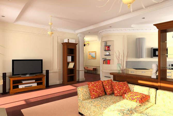 дизайн квартиры 38 м