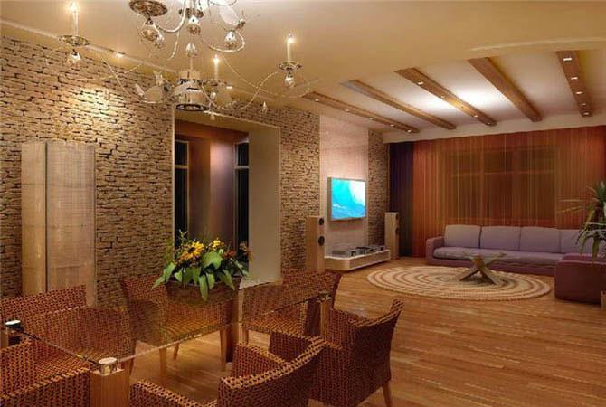 интерьер трех комнатной квартиры