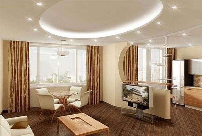 ремонт квартир неоновое освещение потолков